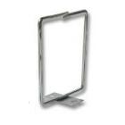 Metalen kabelhouder, schroef-montage 80 x 80 mm