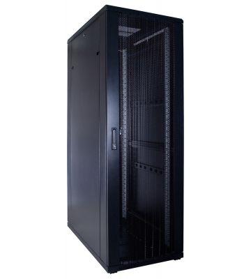 37U serverkast met geperforeerde deur 600x1000x1800mm (BxDxH)