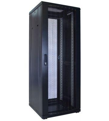 32U serverkast met geperforeerde deur 600x600x1600mm (BxDxH)