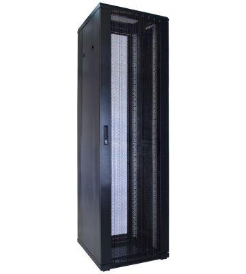 42U serverkast met geperforeerde deur 600x600x2000mm (BxDxH)