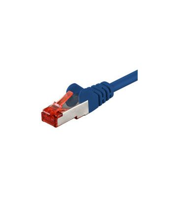 CAT6 SSTP/PIMF 0,50m blauw