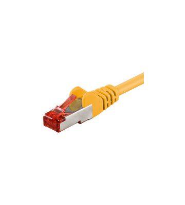 CAT6 SSTP/PIMF 0,50m geel