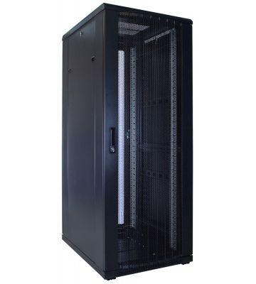 32U serverkast met geperforeerde deur 600x800x1600mm (BxDxH)