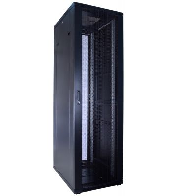 42U serverkast met geperforeerde deur 600x800x2000mm (BxDxH)