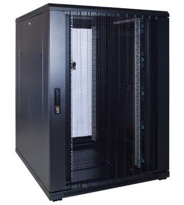 22U serverkast met geperforeerde deur 800x1000x1200mm (BxDxH)