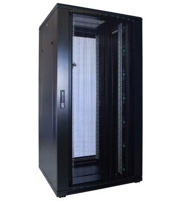 32U serverkast met geperforeerde deur 800x800x1600mm (BxDxH)