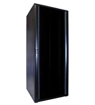 42U serverkast met glazen deur 800x800x2000mm (BxDxH)