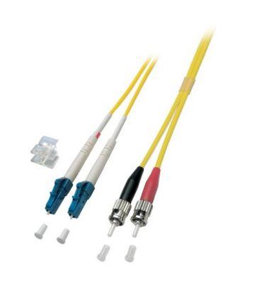 OS2 duplex glasvezel kabel LC-ST 10m