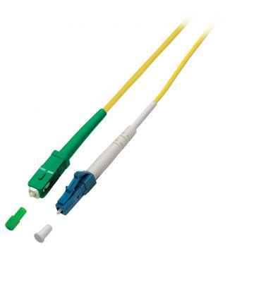 OS2 simplex glasvezel kabel SC/APC-LC 5m