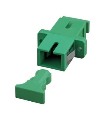 Singlemode koppeling SC-SC simplex groen