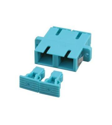 Multimode koppeling SC-SC duplex turquise
