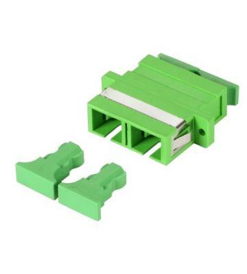 Singlemode koppeling SC-SC duplex groen