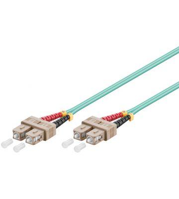 Fibre optic cable SC-SC OM3 0,50m