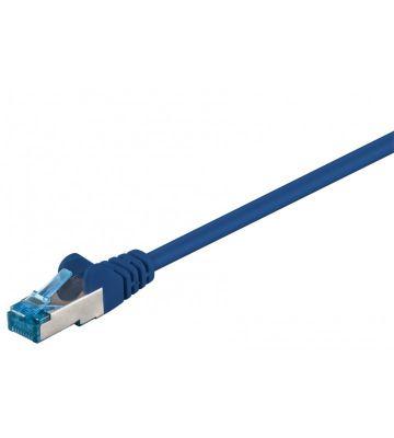 CAT6a S/FTP (PIMF) 20m blauw