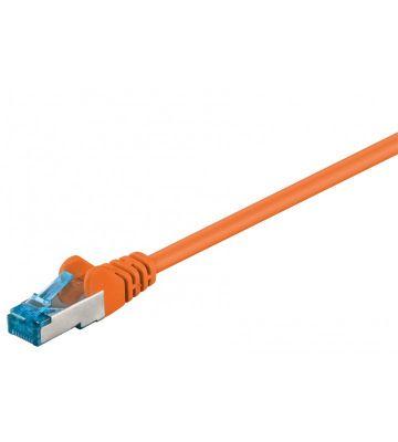 CAT6a S/FTP (PIMF) 0,50m oranje
