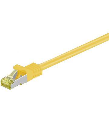 Cat7 SFTP/PIMF 0,25m geel