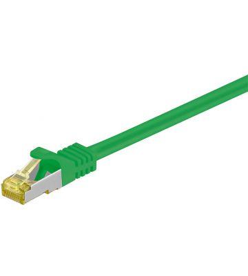 Cat7 SFTP/PIMF 1,50m groen