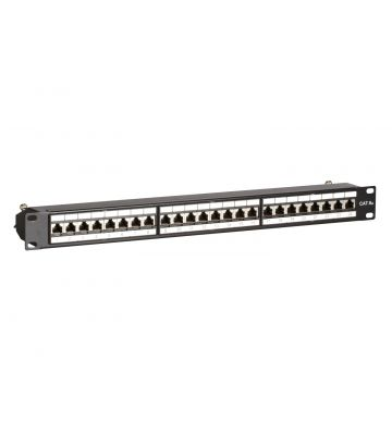 CAT6a STP patchpaneel - 24 poorts