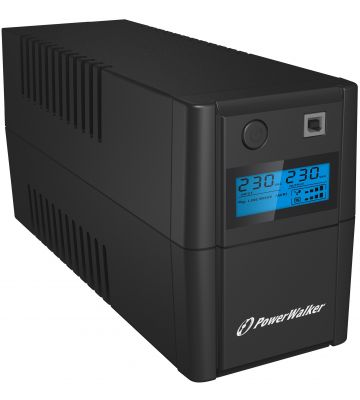 PowerWalker Line-Interactive 650VA-L UPS