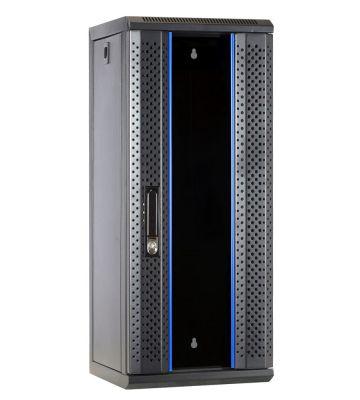 10 inch 15U serverkast met glazen deur 312x310x752mm (BxDxH)