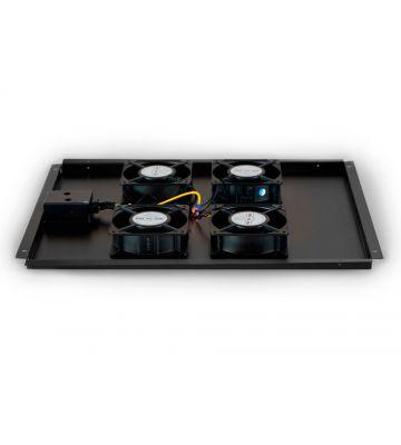 Fan-pakket met 4 ventilatoren geschikt voor 800mm diepe serverkasten