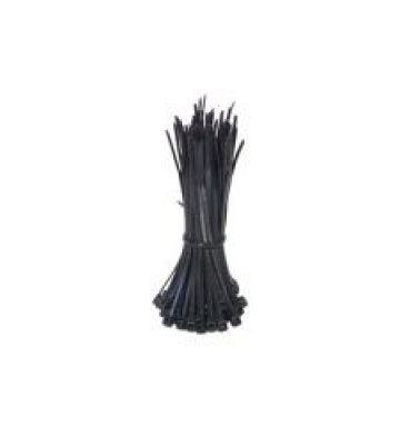Kabelbinders 140mm zwart - 100 stuks