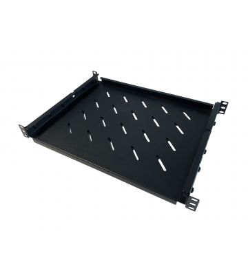 Verstelbaar legbord voor 350mm tot 600mm diepe serverkasten - 1U