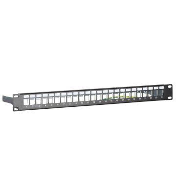 STP patchpaneel voor keystones - 24 poorts