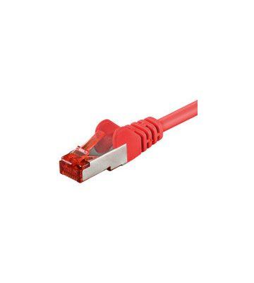 CAT6 SSTP/PIMF 1m rood