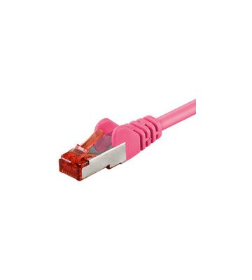 CAT6 SSTP/PIMF 10m roze