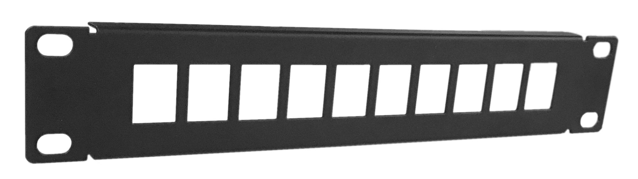 Afbeelding van UTP patchpaneel voor keystones - 10 poorts