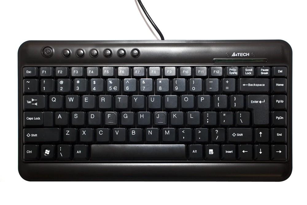 Afbeelding van Mini toetsenbord USB, USA/Nordic-layout, voor 19 inch kasten
