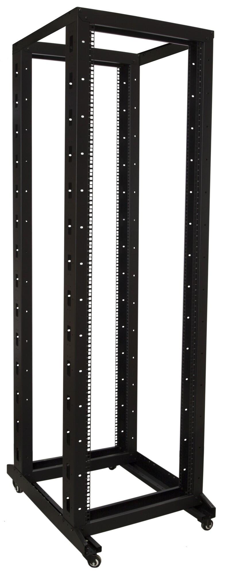 Afbeelding van 42U relay rack op wielen 600x800x2000mm