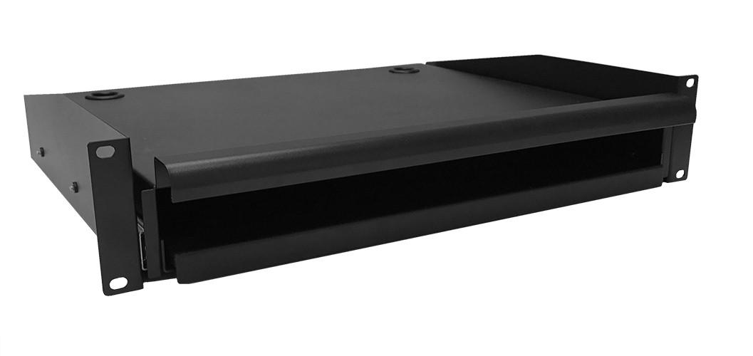 Afbeelding van Toetsenbord- en muisplank voor 19 inch serverkasten - 2U