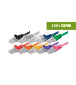 Cat6a patchkabels - 100% koper